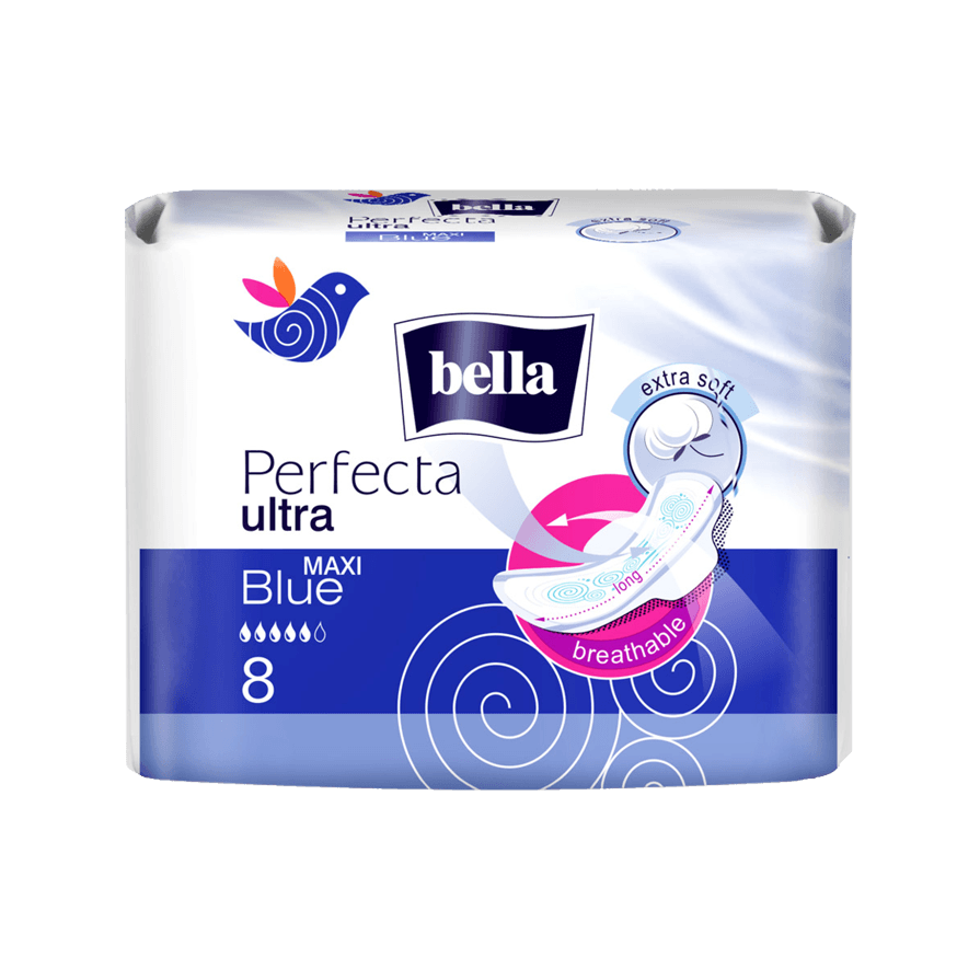 Прокладки bella Perfecta ultra MAXI Blue №8 в Казани